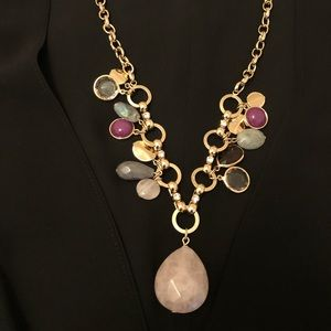Necklace, Semi-precious stones